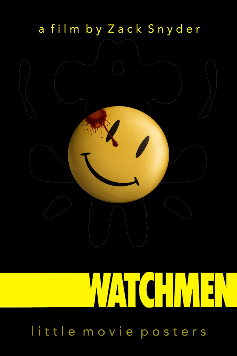 Watchmen Marvel Kanvas Tablo