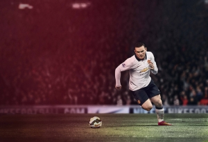Wayne Rooney Manchester United Futbol Spor Kanvas Tablo