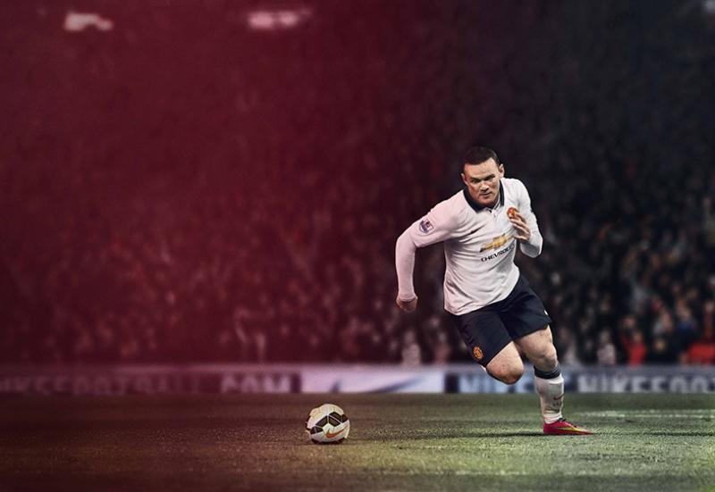 Wayne Rooney Manchester United Futbol Spor Kanvas Tablo