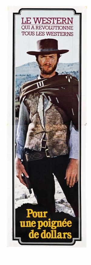Western Client Eastwood Afiş Kanvas Tablo