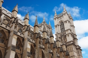 Westminster Abbey Mimari Britanya 2 Unesco Dünya Kültür Mirasları Kanvas Tablo