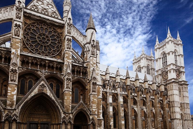 Westminster Abbey Mimari Britanya Unesco Dünya Kültür Mirasları Kanvas Tablo