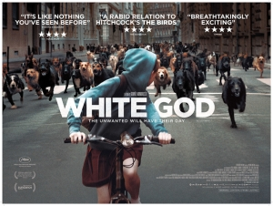 White God Afiş Kanvas Tablo