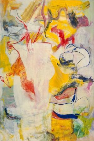 Willem de Kooning 1 Yagli Boya Klasik Sanat Kanvas Tablo