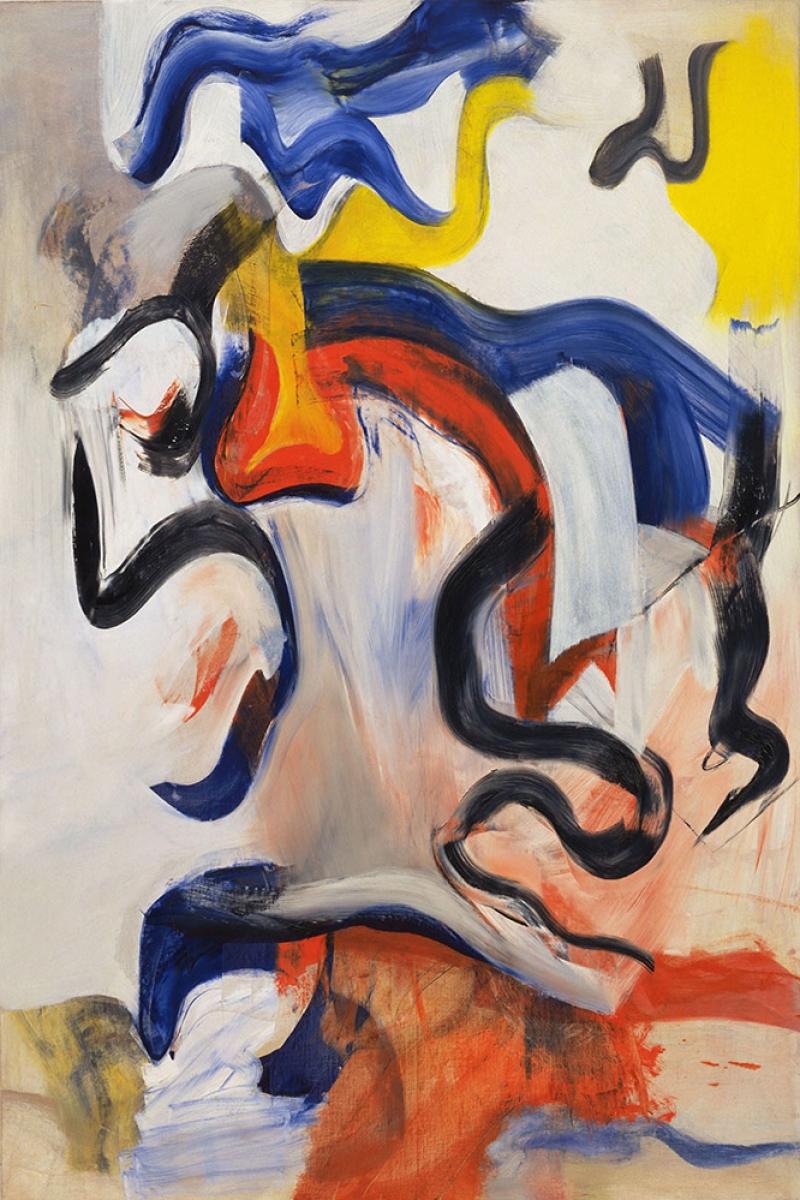 Willem de Kooning 2 Yagli Boya Klasik Sanat Kanvas Tablo