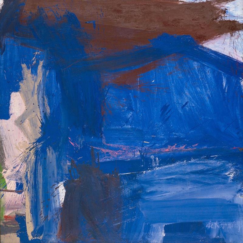 Willem de Kooning Nepalde Bir Agac Yagli Boya Klasik Sanat Kanvas Tablo