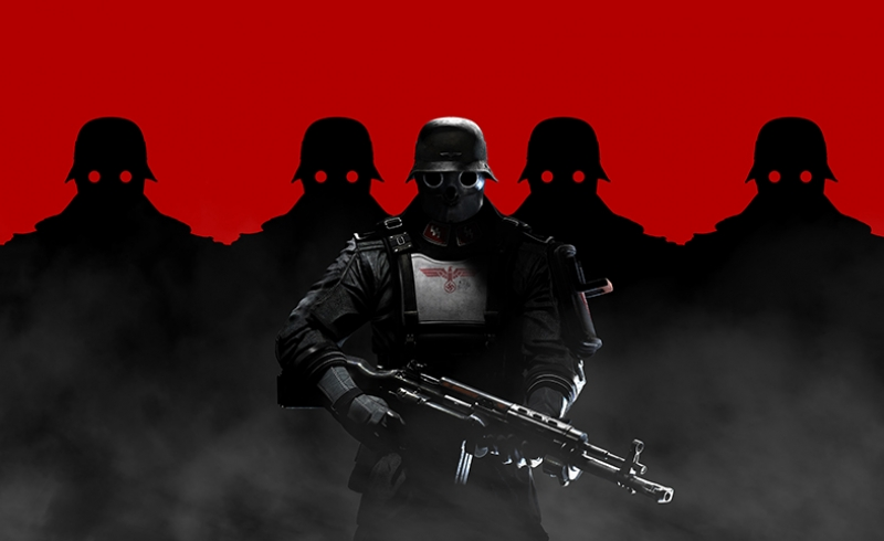 Wolfenstein 2 Kanvas Tablo