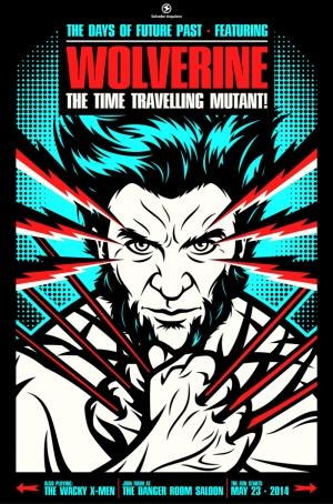 Wolverine Süper Kahramanlar Kanvas Tablo