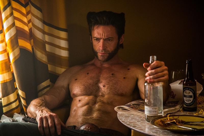 Wolverine X Man Süper Kahramanlar Kanvas Tablo