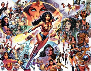 Wonder Woman Marvel Süper Kahramanlar Kanvas Tablo