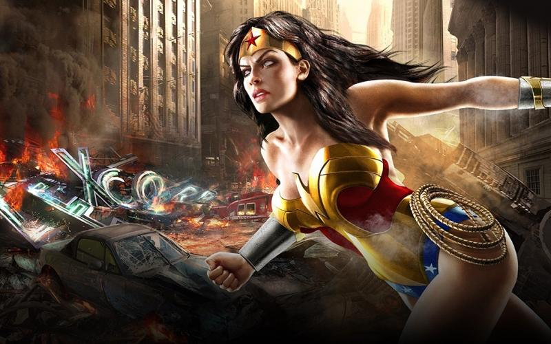 Wonder Woman Sinema Kanvas Tablo