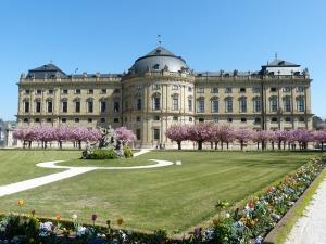 Wurzburg Unesco Dünya Kültür Mirasları Kanvas Tablo