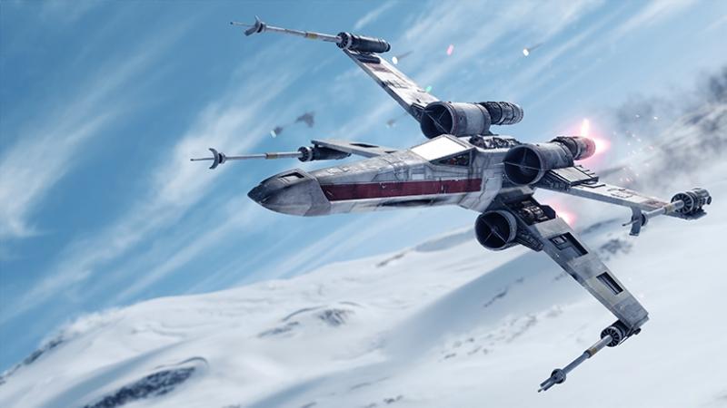 X Wing Star Wars Kanvas Tablo 2