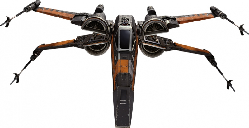 X Wing Star Wars Kanvas Tablo