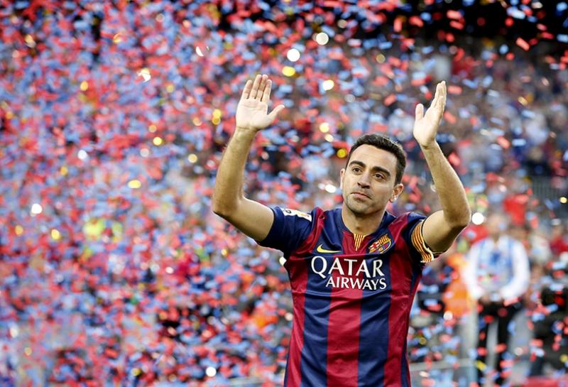 Xavi Barcelona Futbol Spor Kanvas Tablo