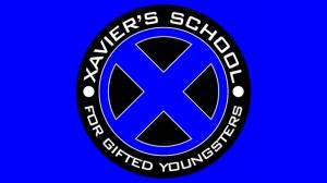 Xaviers Mutant Okulu X Man Süper Kahramanlar Kanvas Tablo