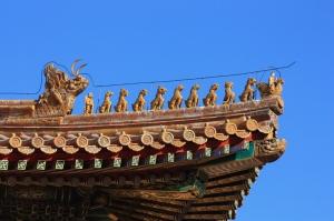 Yasak İmparatorluk Sarayı Unesco Dünya Kültür Mirasları Kanvas Tablo