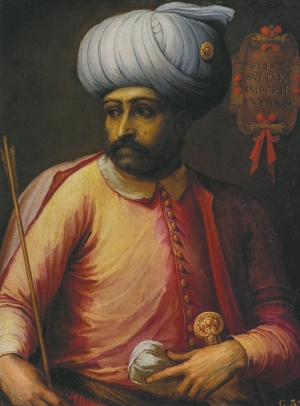 Yavuz Sultan Selim Osmanlı Tarihi Kanvas Tablo