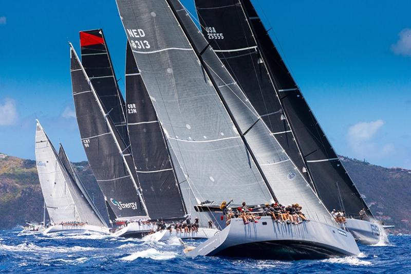 Yelkenli Tekne Yarışları 3 Araçlar Kanvas Tablo