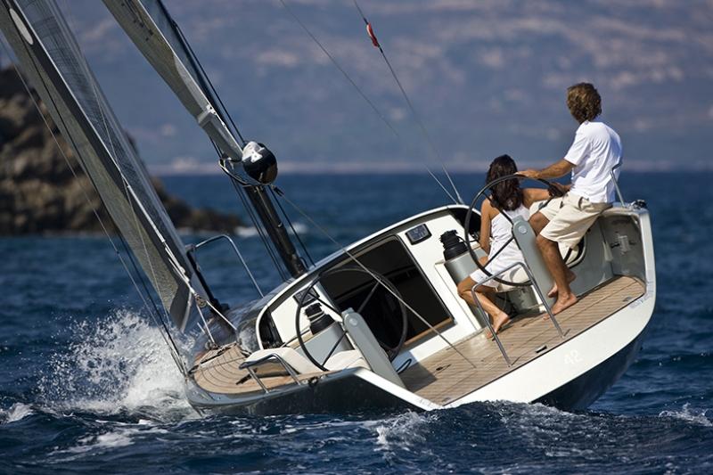 Yelkenli Tekne Yarışları 4 Araçlar Kanvas Tablo