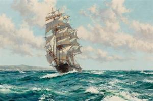 Yelkenli  Tekneler Yarış 7, Deniz Manzara Yağlı Boya Dekoratif Modern Kanvas Tablo