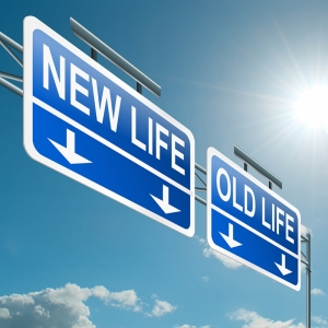 Yeni Hayat ve Eski Hayat Tabela Popüler Kültür Kanvas Tablo
