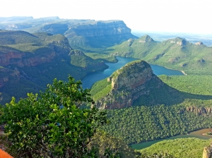 Yeşil Doğa Manzaraları Kanvas Tablo