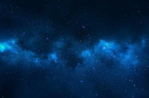 Yıldızlar Dünya & Uzay Kanvas Tablo