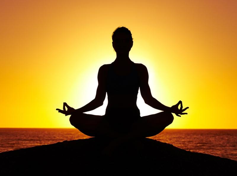 Yoga ve Meditasyon Dini & İnanç Kanvas Tablo