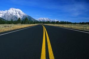 Yollar Fotoğraf Kanvas Tablo