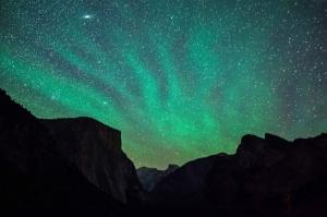 Yosetime Kuzey Işıkları 1 Dünya & Uzay Kanvas Tablo