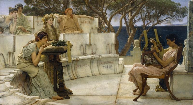 Yunan Mitolojisi Kompozisyon Yağlı Boya Sanat Kanvas Tablo