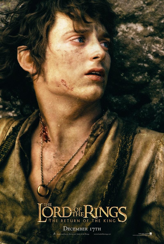 Yüzüklerin Efendisi Frodo Kanvas Tablo