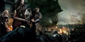 Yüzüklerin Efendisi Hobbitler-1 Film Afişi Kanvas Tablo