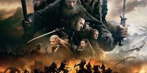Yüzüklerin Efendisi Hobbitler-3 Film Afişi Kanvas Tablo