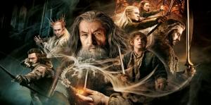 Yüzüklerin Efendisi Hobbitler Film Afişi Kanvas Tablo