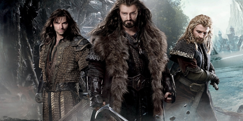 Yüzüklerin Efendisi Hobbitler Thorin-2 Film Afişi Kanvas Tablo