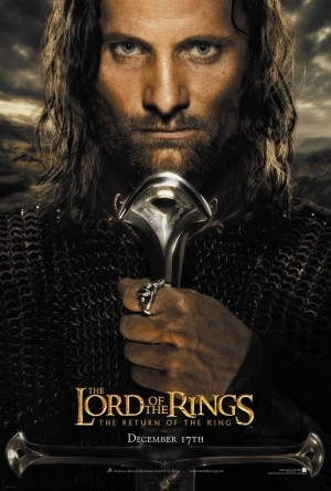 Yüzüklerin Efendisi Lord of the Rings Aragorn Kanvas Tablo