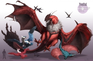Yveltal 1 Pokemon Karakterleri Kanvas Tablo