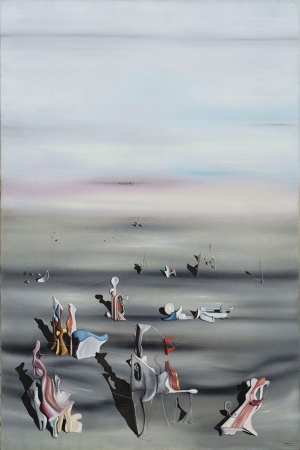 Yves Klein Zamanin Maobilyasi Yagli Boya Klasik Sanat Kanvas Tablo