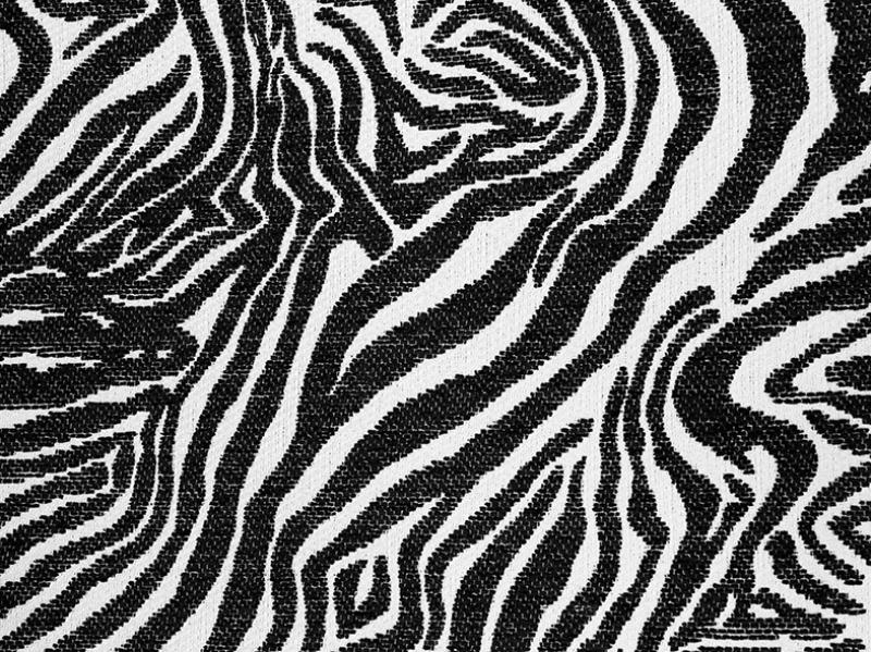 Zebra Tekstil Deseni Abstract Dijital ve Fantastik Kanvas Tablo