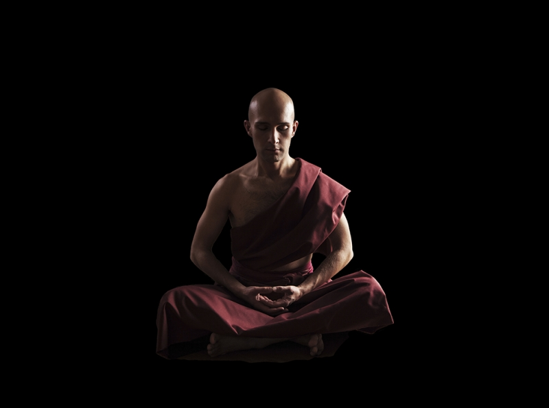 Zen Meditasyon Dini & İnanç Kanvas Tablo