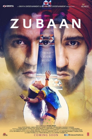 Zubaan Film Afişi Sinema Kanvas Tablo